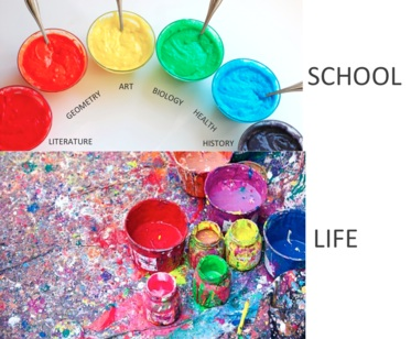 School vs. life -  paul shircliff @shirky17
